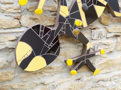 Les sculptures - Myl'M Mosaique