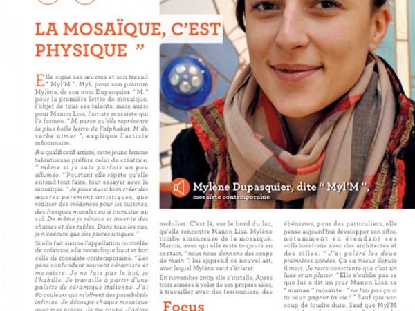 Myl'M Mosaïque - Ma ville Mâcon janvier 2013