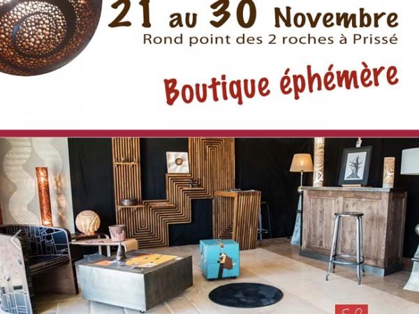 Myl'M Mosaïque - Novembre 2014.  Boutique éphémère, Prissé